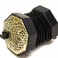 Concertina by C. Wheatstone & Co; London Hammer price: £2,200