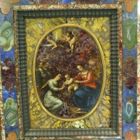 17th Century Italian pietra dura panel £37,000