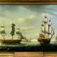 Attributed to Francis Holman, Study of The Merchant Ship  Hammer:  £3000