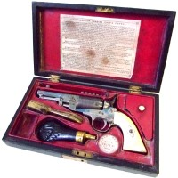 A 19th Century Continental copy of a Colt revolver  Hammer:  £560