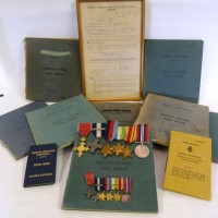 A D.S.O. Group of Six Medals. Hammer: £3900