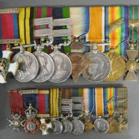An Indian Army Father And Son Medal Group CB,CIE,DSO.  Hammer £5,400