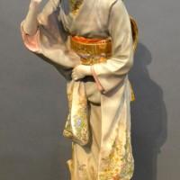 A Japanese Satsuma Porcelain Figure Hammer £620